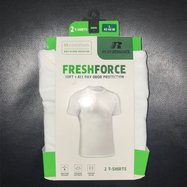 [2-Pack] Russell Men's IntelliFresh Fresh Force T-Shirts-Daily Steals