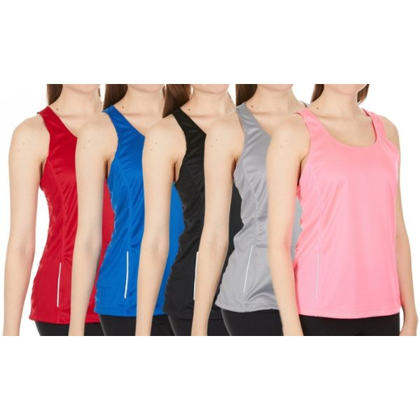 Women's Active Athletic Performance Tanks - 2 Pack-XS-Daily Steals