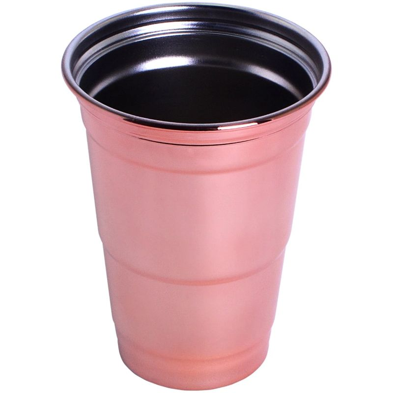Stainless Steel 16 oz. Party Cup-Copper-Daily Steals