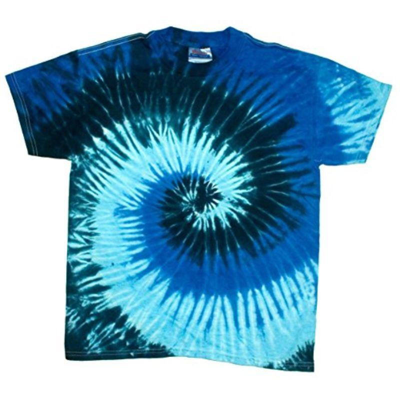 T-shirt Twist Tie Dye Ocean Blue pour homme-XL-Daily Steals