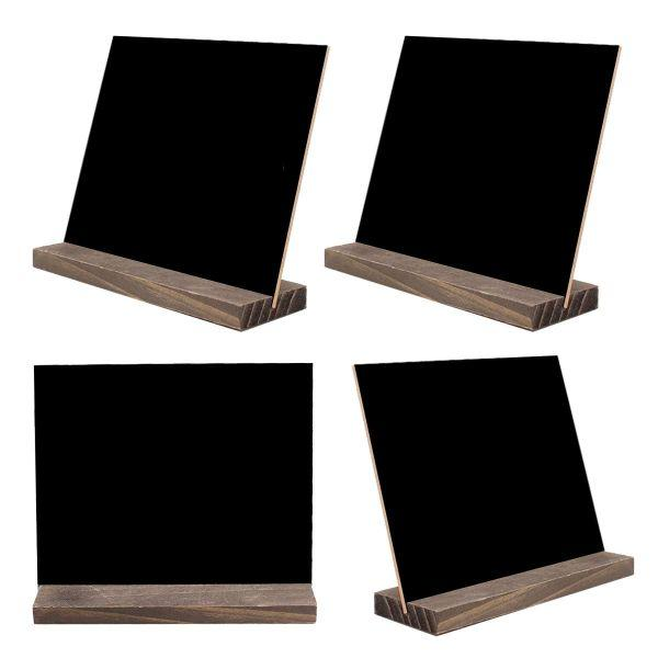 Daily Steals-Two Side Blackboard - 4 Pack-Home and Office Essentials-