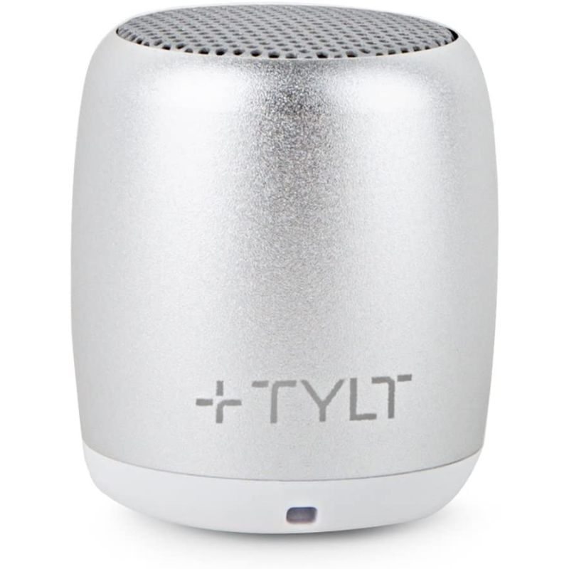 TYLT Mini Boom Bluetooth Speaker - Silver-Daily Steals