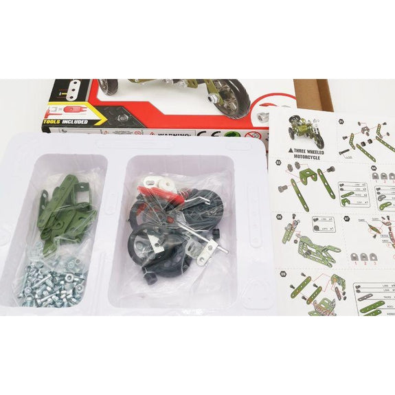 Creative Metal Build Your Own Vehicle Kit STEM Toy-Daily Steals