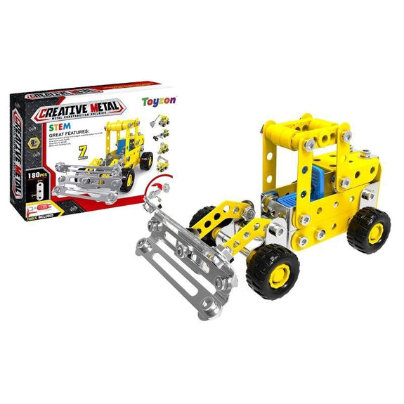 Creative Metal Build Your Own Vehicle Kit STEM Toy-Engineering-Daily Steals