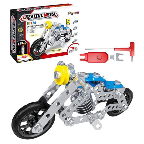 Creative Metal Build Your Own Vehicle Kit STEM Toy-Hog-Daily Steals