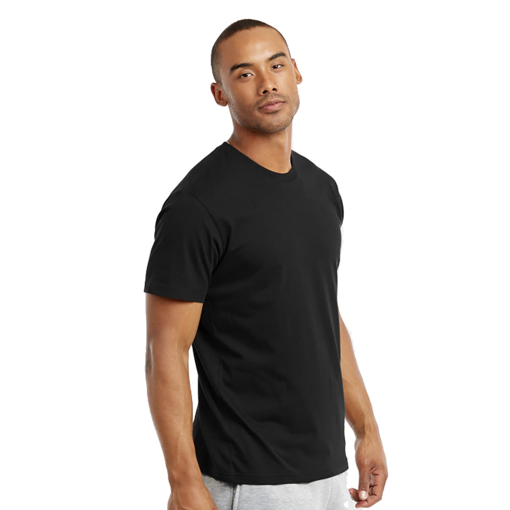 update alt-text with template Daily Steals-Crew Neck Cotton Plain T-Shirt - 3 Pack-Men's Apparel-Black-S-