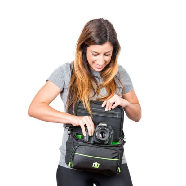 Deco Gear Protective Pro Designed Camera Bag for DSLR and Mirrorless Cameras-Daily Steals