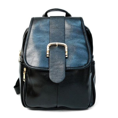 Daily Steals-Women's Faux Leather Backpack-Accessories-1-