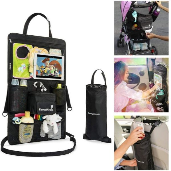 Ultimate Car Backseat Organizer with Tablet Pocket and Cup Holder-Daily Steals