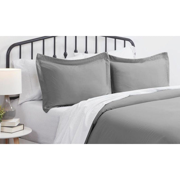 Ultra-Soft Solid Duvet Cover Sets - 2 or 3 Piece-Daily Steals