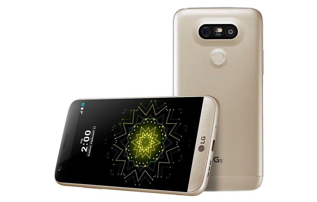 LG G5 H820 32GB Unlocked GSM 4G LTE Quad-Core Phone w/ Dual 16MP and 8MP Camera - Gold-Daily Steals