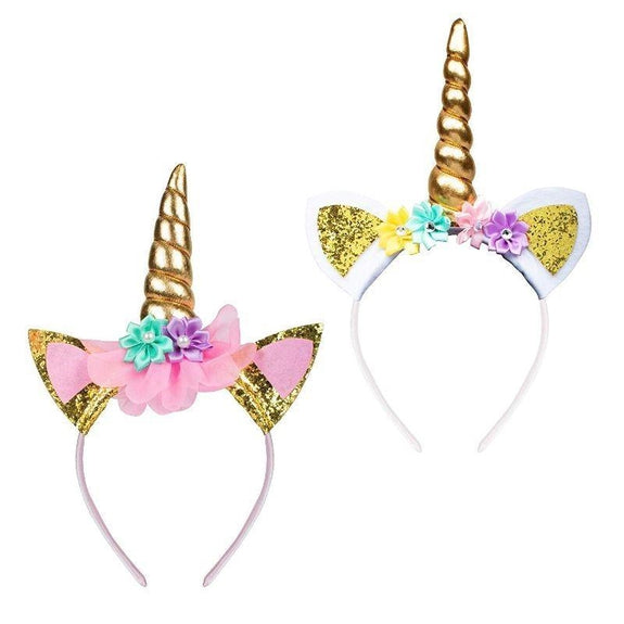 Unicorn Horn Headbands - 6 Pack-Daily Steals