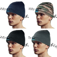 Unisex Bluetooth Beanie Hat- 4 Colors-Daily Steals