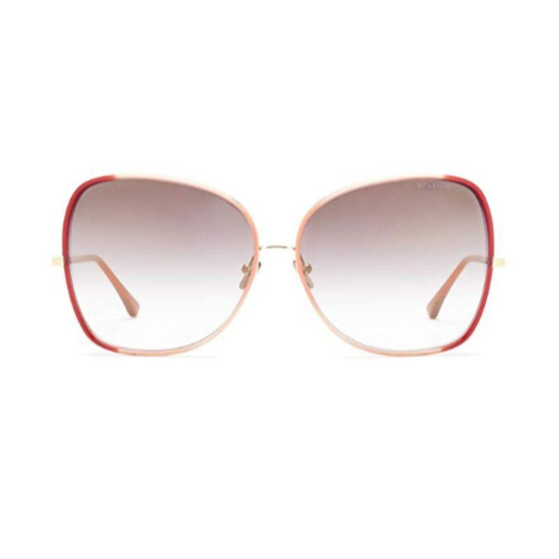Unisex DITA Sunglasses - Bluebird Two 21011-c-red-gld Red Gold Grey Mirror-Daily Steals
