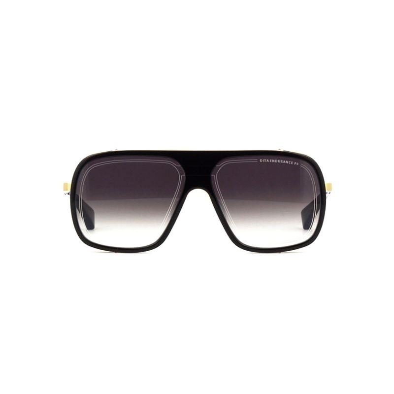 Unisex DITA Sunglasses - Endurance 79 Black - Yellow Gold Grey-Daily Steals