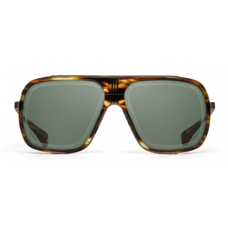Lunettes de soleil unisexes DITA - Endurance 79 Blackwood - Black Iron G-15-Daily Steals