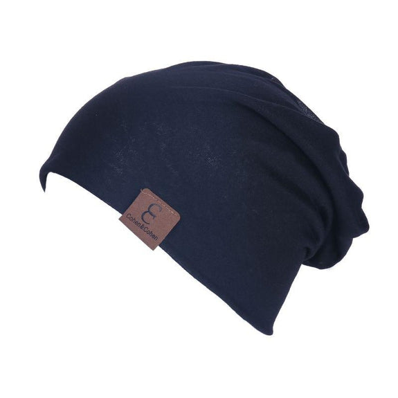 Unisexe Slouch CC Chic Winter Beanie-Black-Daily Steals