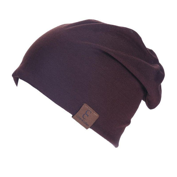 Unisexe Slouch CC Chic Winter Beanie-Dark Brown-Daily Steals