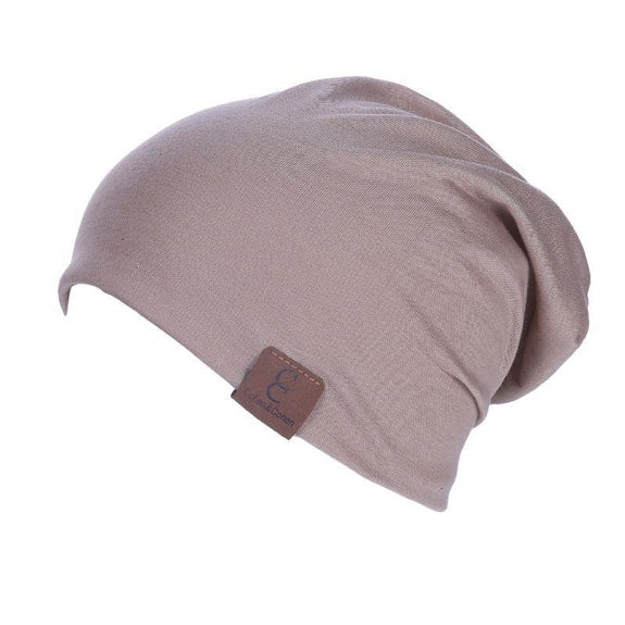 Unisexe Slouch CC Chic Winter Beanie-Khaki-Daily Steals