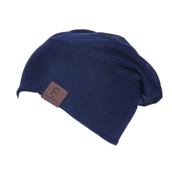 Unisexe Slouch CC Chic Winter Beanie-Navy Blue-Daily Steals