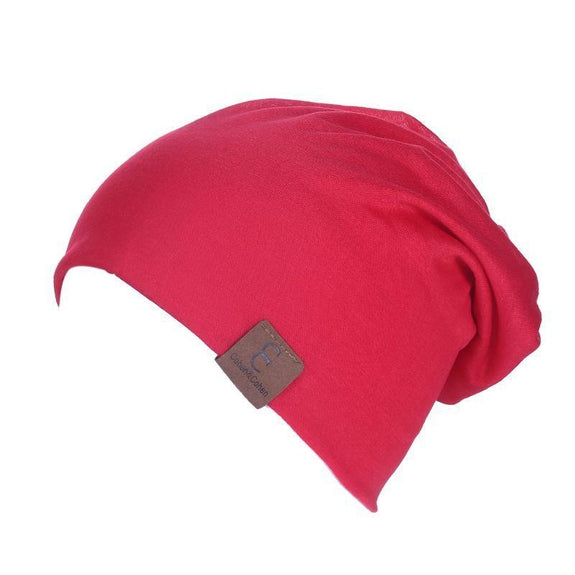 Unisexe Slouch CC Chic Winter Beanie-Red-Daily Steals