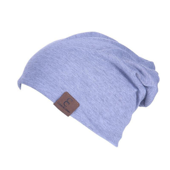 Unisexe Slouch CC Chic Winter Beanie-Sky Blue-Daily Steals