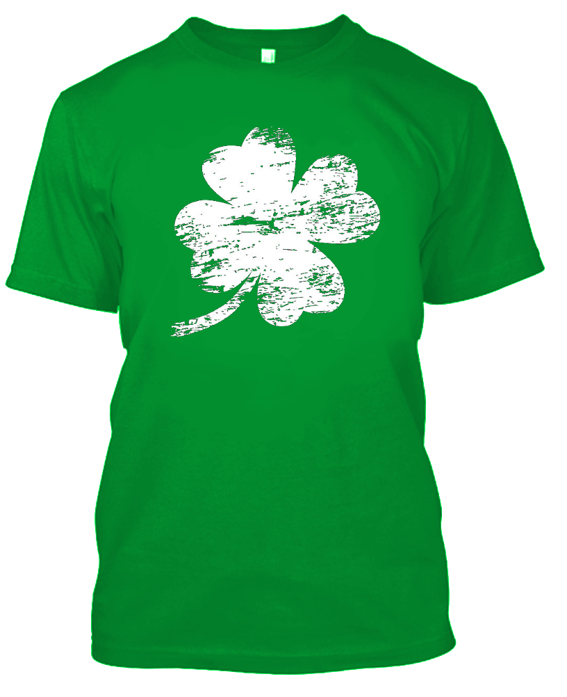 Daily Steals-Unisex St. Patricks Day T-Shirt - 100% Cotton - 4 Styles Available-Men's Apparel-S-Four Leaf Clover-