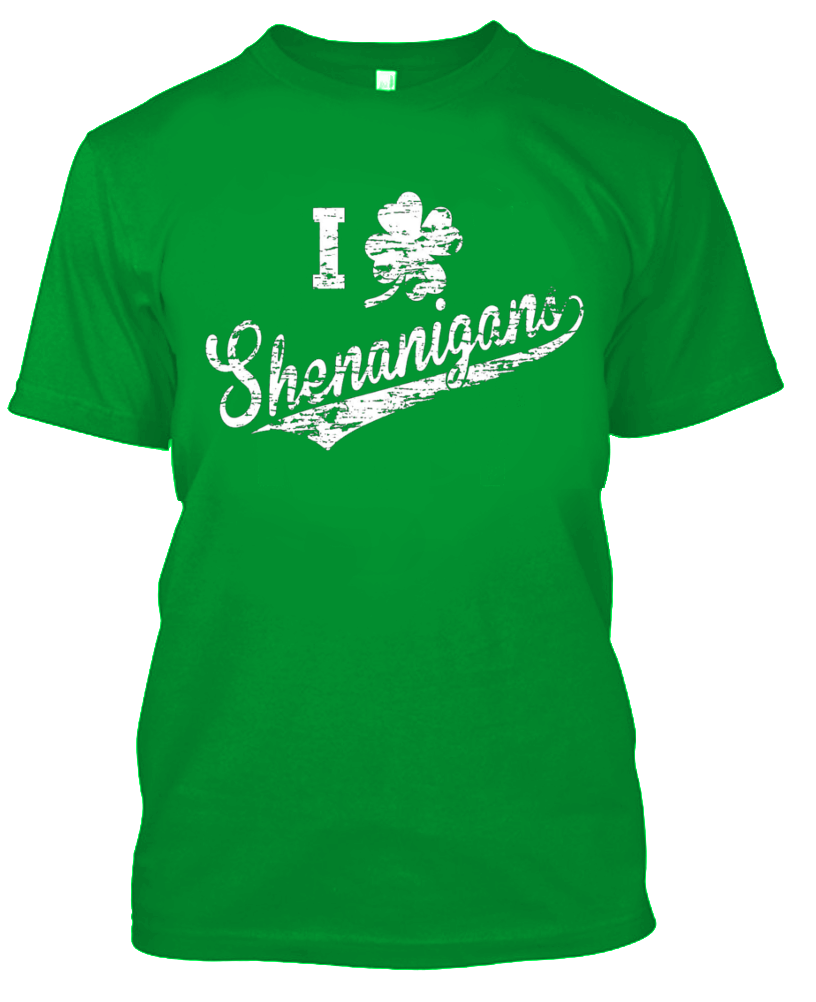 Daily Steals-Unisex St. Patricks Day T-Shirt - 100% Cotton - 4 Styles Available-Men's Apparel-S-I Clover Shenanigans-