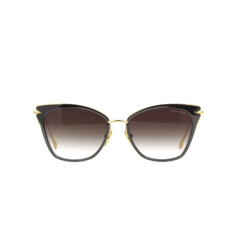 Unisex DITA Sunglasses - Arise - Black Yellow Gold Dark Grey-Daily Steals