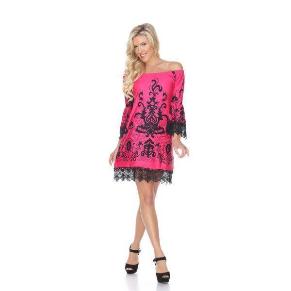 Daily Steals-Uniss' Dress-Women's Apparel-Fuchsia-S-