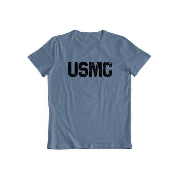 United States Marine Corps T-Shirt-Indigo Blue-S-Daily Steals