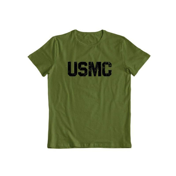 United States Marine Corps T-Shirt-Military Green-S-Daily Steals