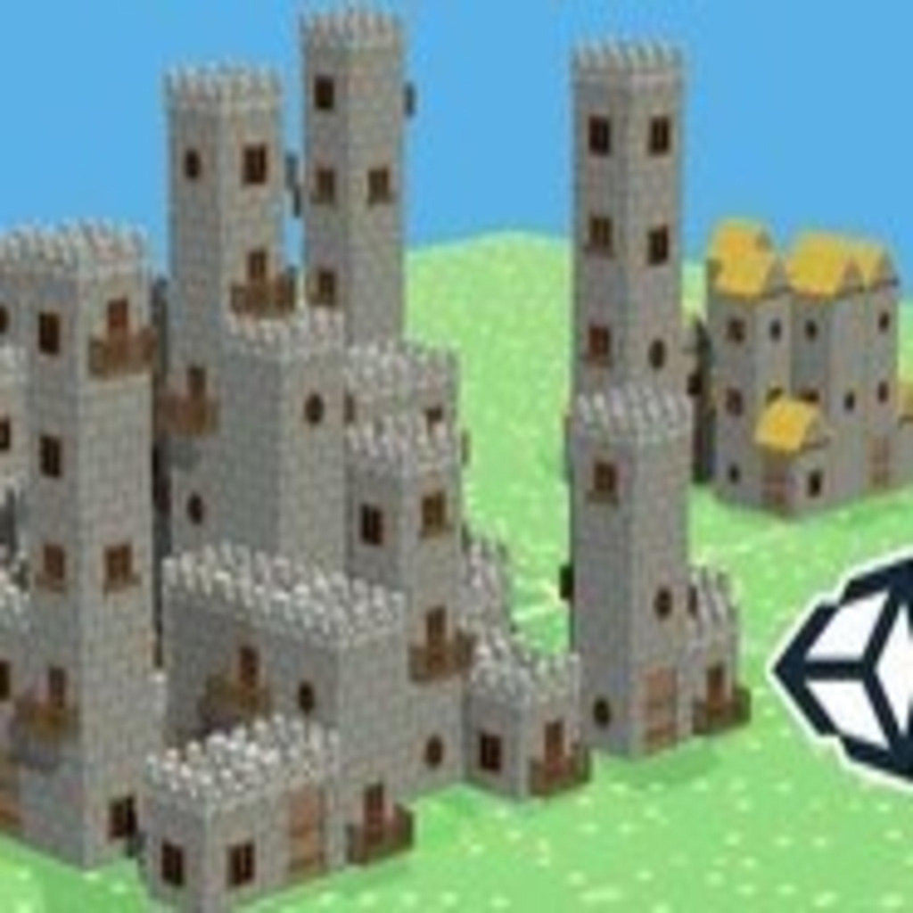 Unity 5 Build a System that Generates Houses & Castles Auto-
