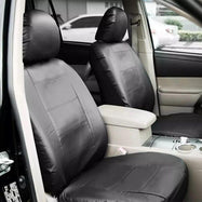 Universal Fit Synthetic Leather Car Seat Protector Cover Set-