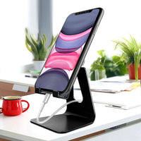 Universal Adjustable Aluminum Phone & Tablet Stand - 1 or 2 Pack