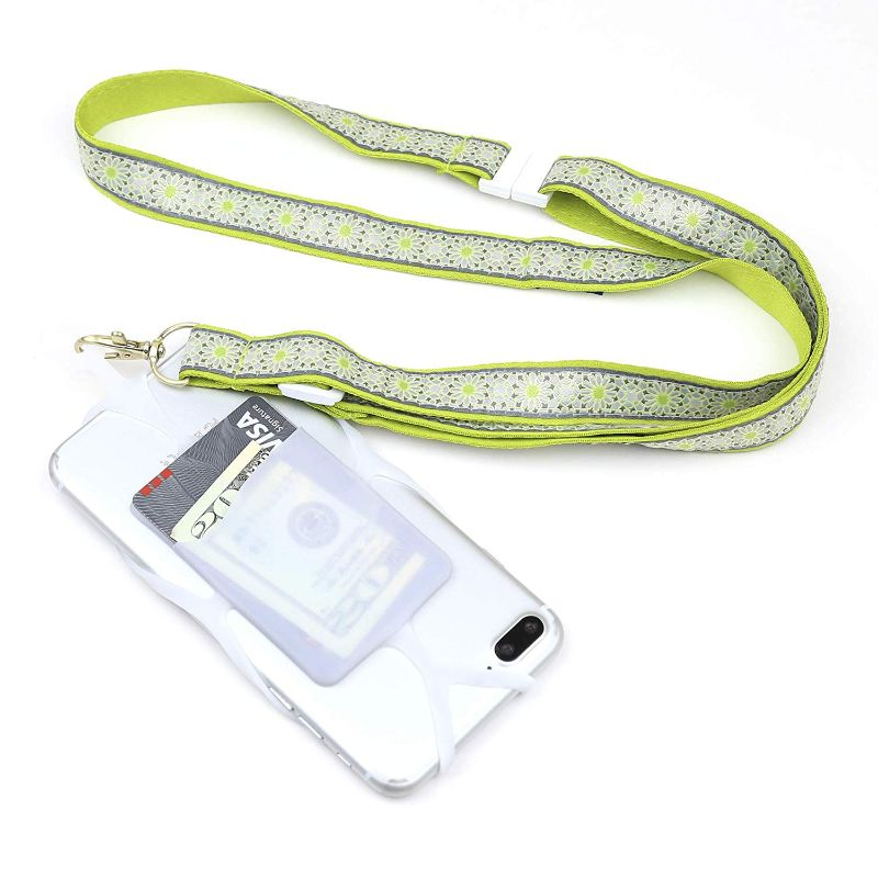 Universal Smartphone Lanyard - 2 Pack-Lime Green-Daily Steals