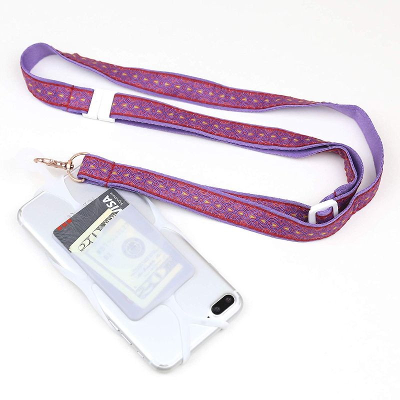 Universal Smartphone Lanyard - 2 Pack-Purple-Daily Steals