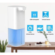 Automatic Liquid Soap & Hand Sanitizer Dispenser USB Rechargeable-Daily Steals
