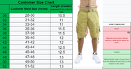 Men's Belted Multi-Pocket Cargo Utility Shorts-Daily Steals