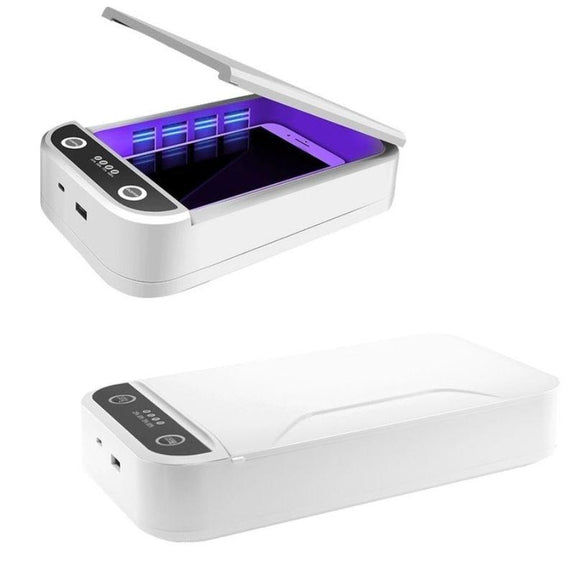 UV Sterilizer Box & Smart Phone Cleaner With Aromatherapy-1 Pack-
