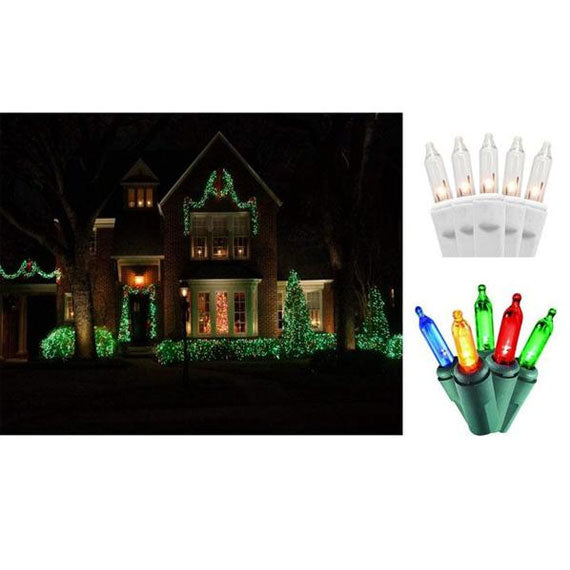 update alt-text with template Daily Steals-Holiday Essence 100-Count Christmas Light Set-Home and Office Essentials-Green wire/Clear light-