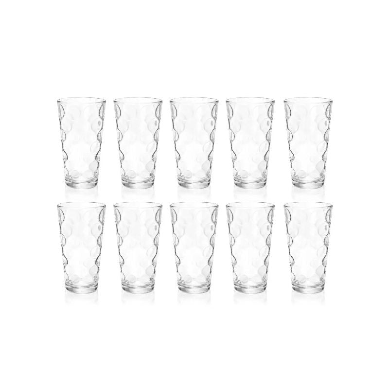 Eclipse Cooler Heavyweight 17oz Drinking Glasses - Set of 10