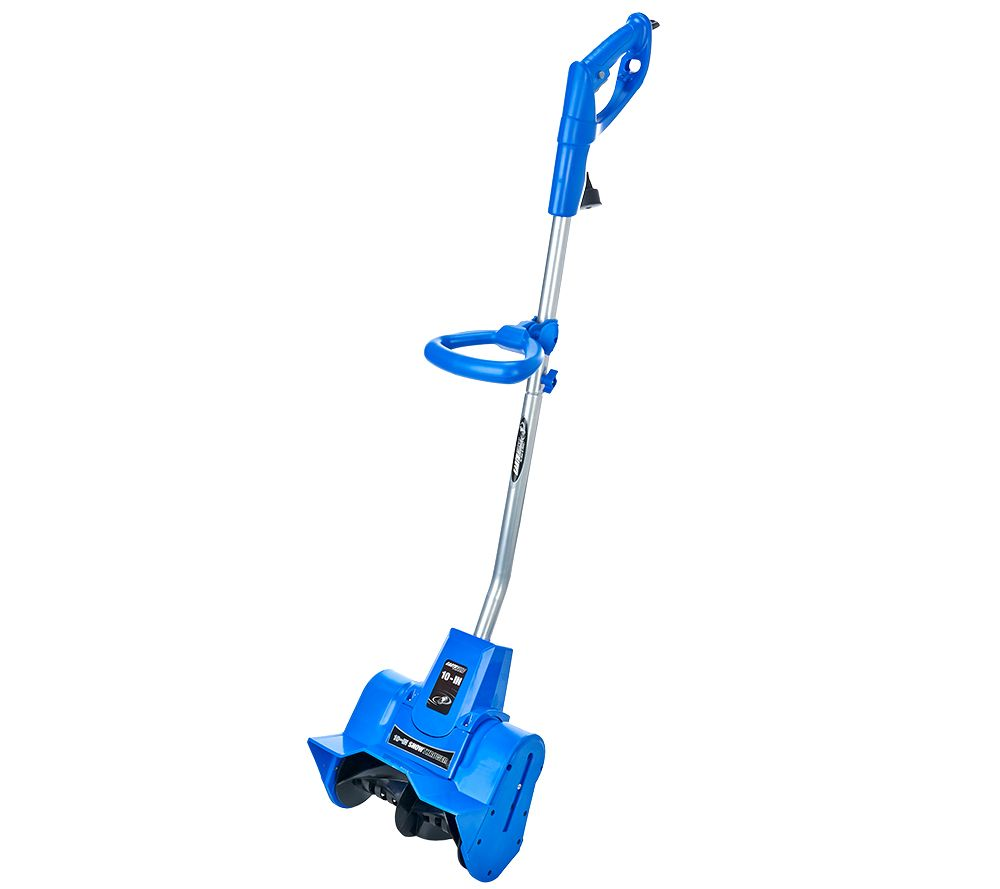 "Pelle à neige Earthwise Snow Thrower 9 AMP Corded Electric 10 ""- Couleurs Assorties - Bleu - Daily Steals"