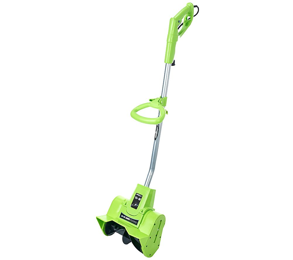 "Pelle à neige Earthwise Snow Thrower 9 AMP Corded Electric 10 ""- Couleurs Assorties-Vert-Daily Steals"