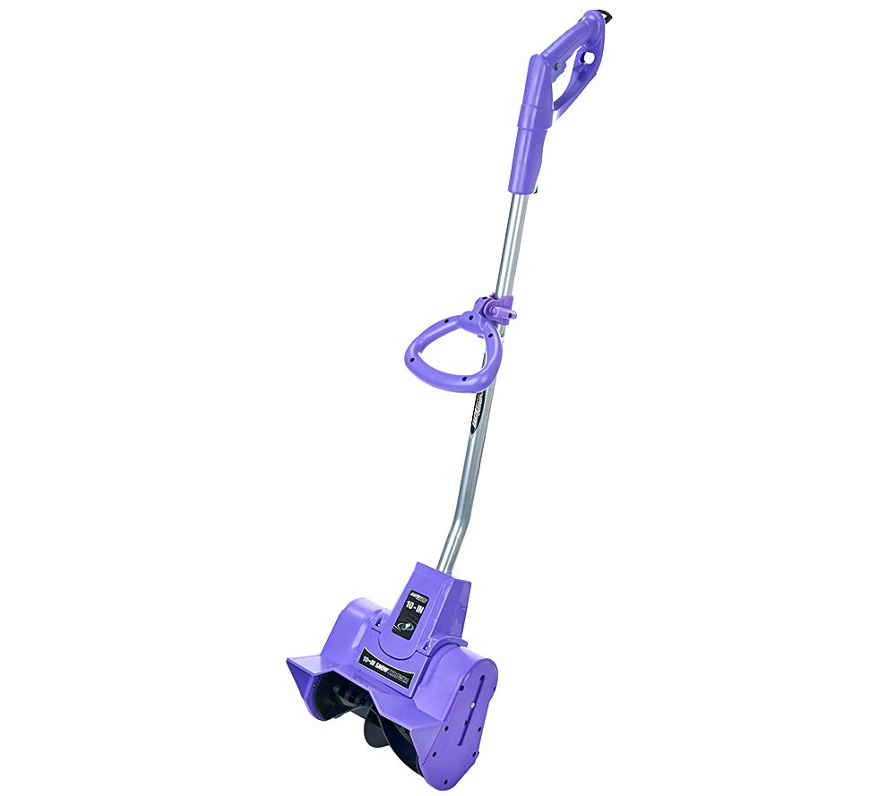 "Pelle à neige Earthwise Snow Thrower 9 AMP Corded Electric 10 ""- Couleurs Assorties - Pourpre - Quotidien"