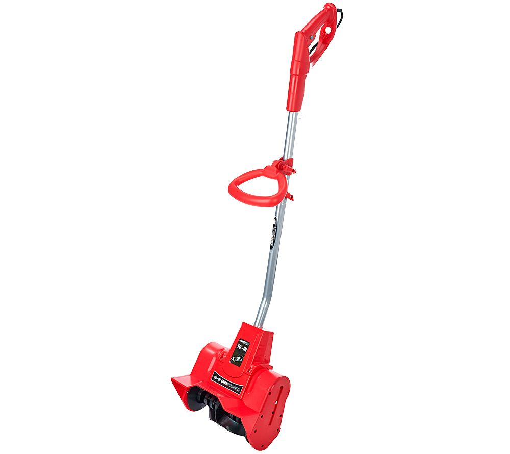 "Pelle à neige Earthwise Snow Thrower 9 AMP Corded Electric 10 ""- Couleurs Assorties - Rouge - Vole Quotidienne"