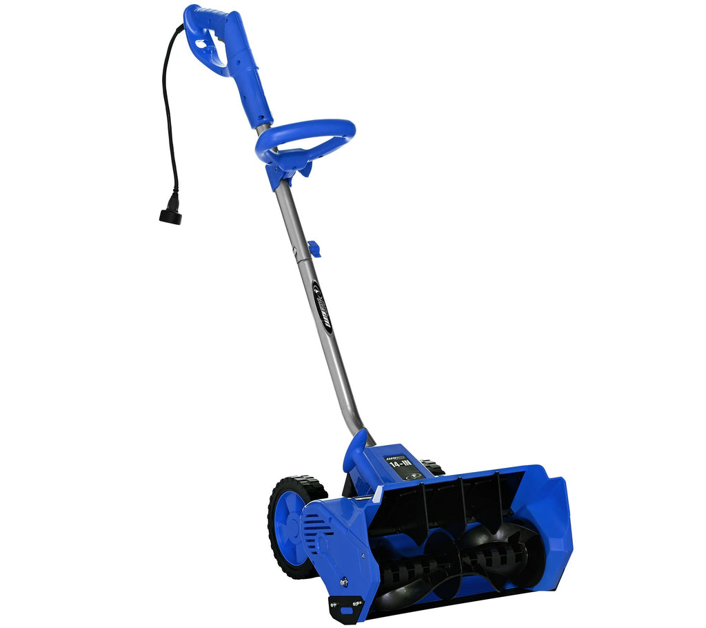 "Earthwise Snow Thrower Snow Shovel 12 AMP Corded Electric 14"" - Assorted Colors-Blue-Daily Steals"