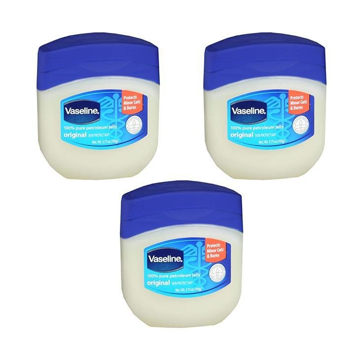Vaseline Petroleum Jelly, Original 3.75 oz - 3 Pack-Daily Steals