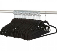 Daily Steals-Velvet, Non Slip, Space Saving, Clothes Hangers - 50 Pack-Home and Office Essentials-
