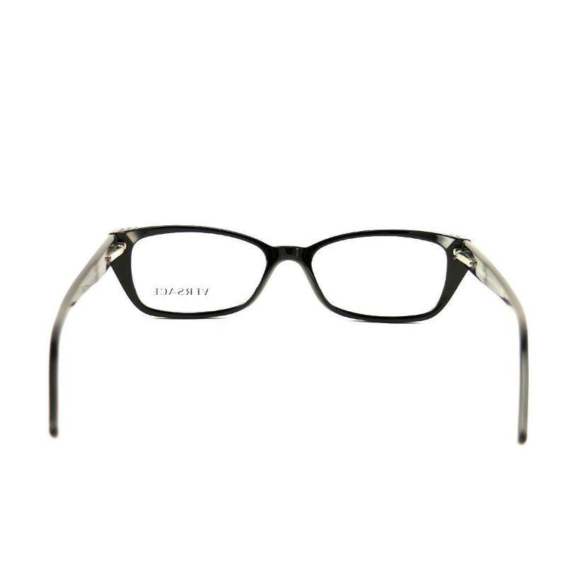 Versace Women's Eyeglasses VS 3150-GB15 Glossy Black Acetate 51 16 135-